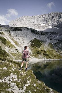 austria, Tirol, Drachensee, Mountain, family - FKF03276