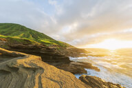 USA, Hawaii, Oahu, Lanai, Pacific Ocean, Coco Crater at sunrise - FOF10369