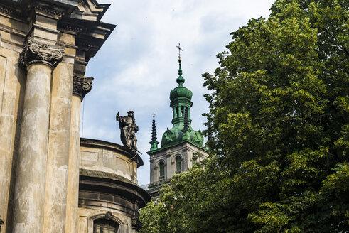 Ukraine, Lviv, Church tower - RUNF01209