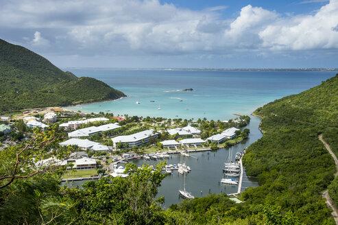 Caribbean, Antilles, Sint Maarten, Grand-Case, Oversea France - RUNF01236