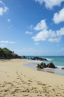 Caribbean, Antilles, Sint Maarten, Happy Bay Beach, Oversea France - RUNF01242