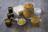 Still life of homemade calendula cream - HEROF22253
