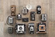 Knolling of vintage cameras - HEROF22652