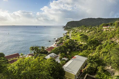 Caribbean, Netherland Antilles, St. Eustatius, Oranjestad bay - RUNF01256