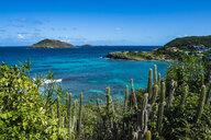 Caribbean, Lesser Antilles, Saint Barthelemy, View to Caribbean Sea - RUNF01259