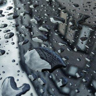 rain, city, car, mirror, house, grey, Berlin, Germany - NGF00495