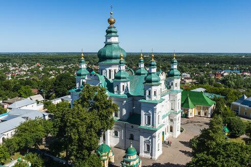 View over the Trinity Monastery, Chernihiv, Ukraine - RUNF01277