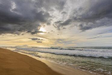 USA, Hawaii, Kauai, Polihale State Park, Polihale Beach at sunset - FOF10450