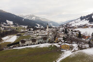Austria, Jochberg, areal view of the village in early winter - PSIF00238