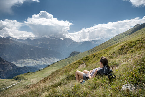 Schweiz, Kanton Wallis, Wanderung Foggenhorn - DMOF00130