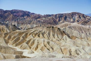 USA, California, Death Valley National Park, Twenty Mule Team Canyon - GEMF02844