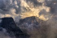 Italy, Veneto, Dolomites, Alta Via Bepi Zac, Sunset - LOMF00817