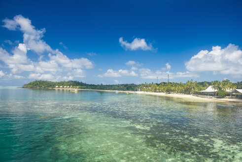 Fiji, Mamanuca islands, Mana island, beach - RUNF01343