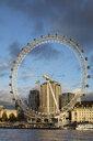 UK, London, River Thames, London Eye - WI03840