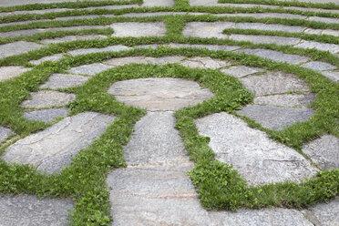 Italy, Alto Adige, Lana, natural open air maze - PSTF00327