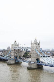 UK, London, Aerial view of Tower Bridge - IGGF00845