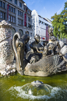 Germany, Nuremberg, Hans Sachs fountain - RUN01387