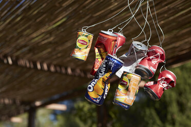 Wind Chime made of beverage cans - AME00006