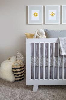 Baby crib in nursery - HEROF26790