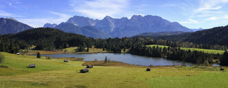 Germany, Bavaria, Geroldsee - DLF00036