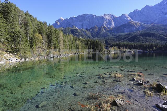 Germany, Bavaria, Eibsee Lake - DLF00048 - dl-photo/Westend61