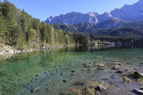 Germany, Bavaria, Eibsee Lake - DLF00048
