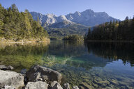 Germany, Bavaria, Eibsee Lake - DLF00051