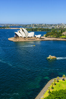 Australia, New South Wales, Sydney, landscape with The Sydney Opera - KIJ02335