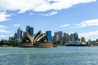 Australia, New South Wales, Sydney, landscape of Sydney Harbor with the Opera House - KIJF02359
