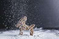 Christmas pastry, gingerbread, reindeer, icing sugar - STBF00221