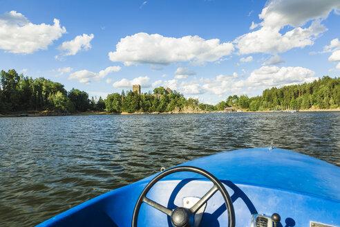 Austria, Lower Austria, Waldviertel, Ottenstein Reservoir, castle Lichtenfels - AIF00599