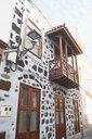Spain, Canary Islands, La Palma, Tijarafe, facade of a house - BSCF00598