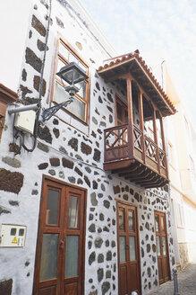 Spain, Canary Islands, La Palma, Tijarafe, facade of a house - BSCF00598