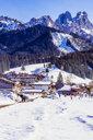 Austria, Tyrol, Tannheim Valley in winter - THAF02480