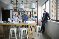 Portrait confident architects in office - HEROF27898
