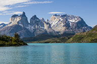 Chile, Patagonia, Torres del Paine National Park, Lake Pehoe - RUNF01501