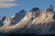Chile, Patagonia, Torres del Paine National Park, mountainscape - RUNF01504