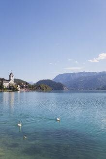 Austria, Alps, Salzburg, Salzkammergut, Salzburger Land, St. Wolfgang at Wolfgangsee - GWF05994