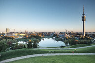 Germany, Munich, Olympic Park and Olympic Lake - WFF00045