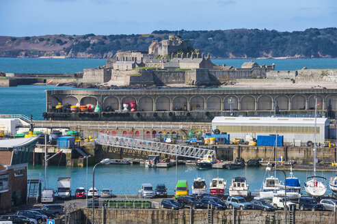 United Kingdom, Channel islands, Jersey, St. Helier, Elizabeth castle - RUNF01552