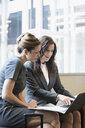 Female attorneys using laptop - HEROF30134
