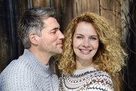 Germany, Bavaria, portrait of happy couple - ECPF00548