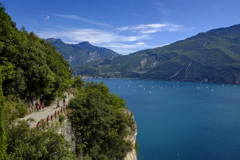 Italy, Trentino, Lake Garda, Riva del Garda and Torbole - LBF02448