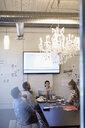 Designers meeting brainstorming in conference room - HEROF30519