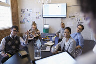 Designers meeting in conference room - HEROF30525