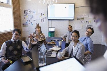 Designers meeting in conference room - HEROF30525