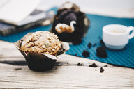 Home-baked muffin with muesli - ERRF00801