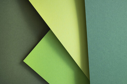 Green set of paper as an abstract background - MOMF00647