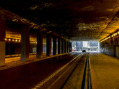 Interior of a tunnel in the city of Madrid, Spain - OCMF00329