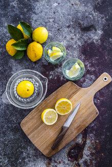 Glasses of homemade lemonade - GIOF05895